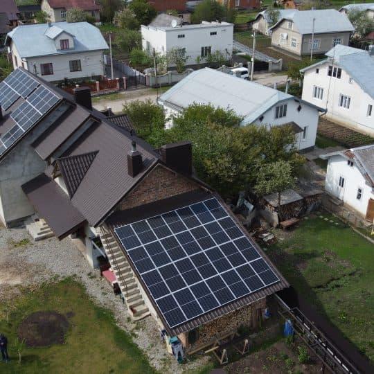 Встановлення сонячної електростанції в Тисмениці, 19 кВТ