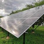 Сонячна електростанція в Білих Ославах, 36 кВТ