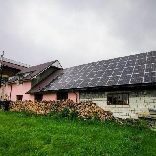 Сонячна електростанція в с. Лоєва, 36 кВТ