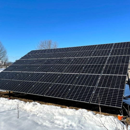 Сонячна електростанція в с. Заріччя