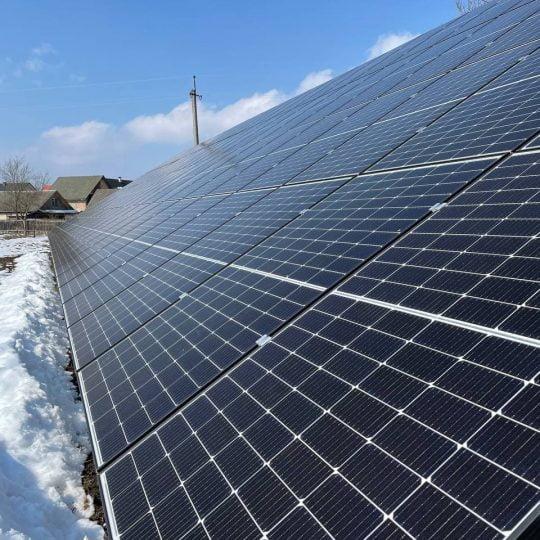 Сонячна електростанція в с. Білі Ослави